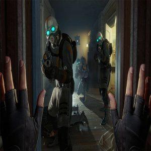 مبارزه در بازی half life alyx